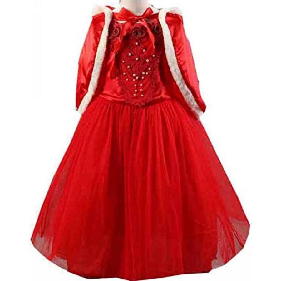 ハロウィン コスプレ 輸入品 Uget Girls Long Sleeve Snow Princess Cosplay Costume Dress
