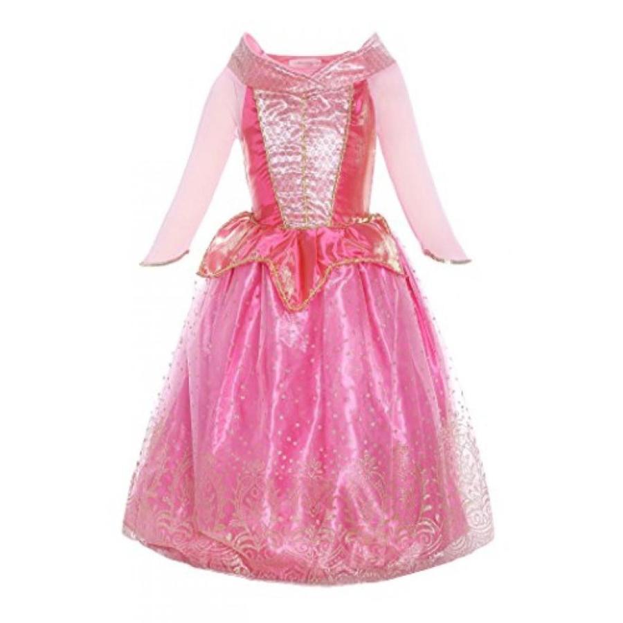 ハロウィン コスプレ 輸入品 ReliBeauty Girls Princess Aurora Dress Costume
