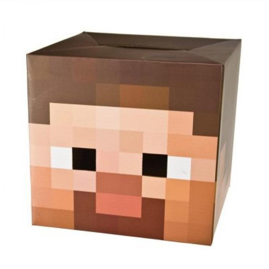 ハロウィン コスプレ 輸入品 Minecraft Steve Creeper Enderman Box Head Costume Mask