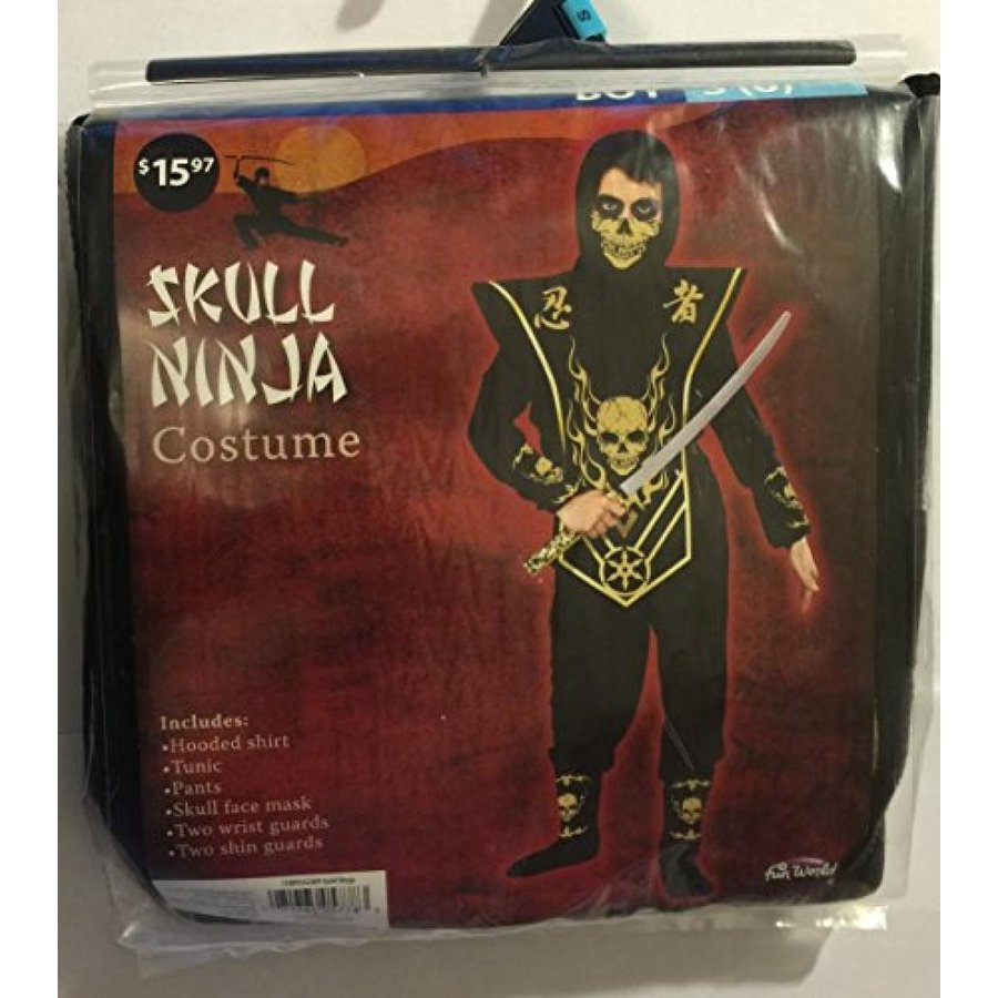 ハロウィン コスプレ 輸入品 Skull ninja costume - small 6