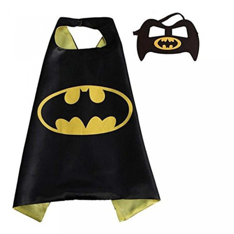 ハロウィン コスプレ 輸入品 Naimo Children Superhero Cape & Mask Set Kids Halloween Costume