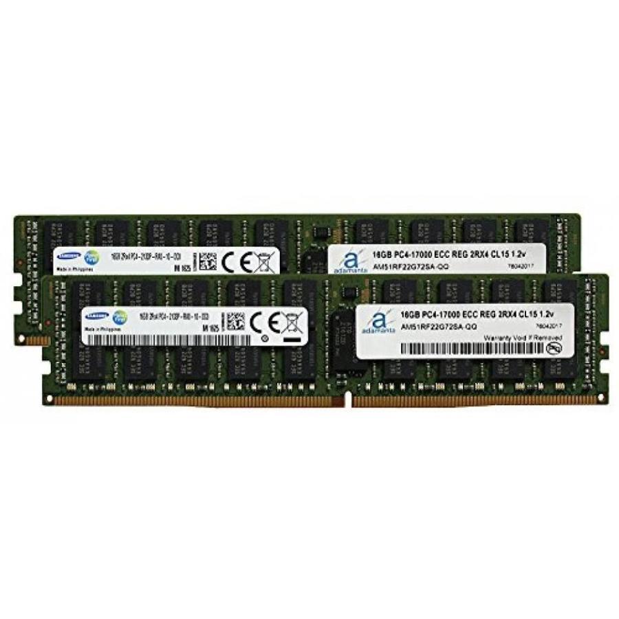 メモリー Samsung Original PC4-19200 Registered 32GB (2x16GB