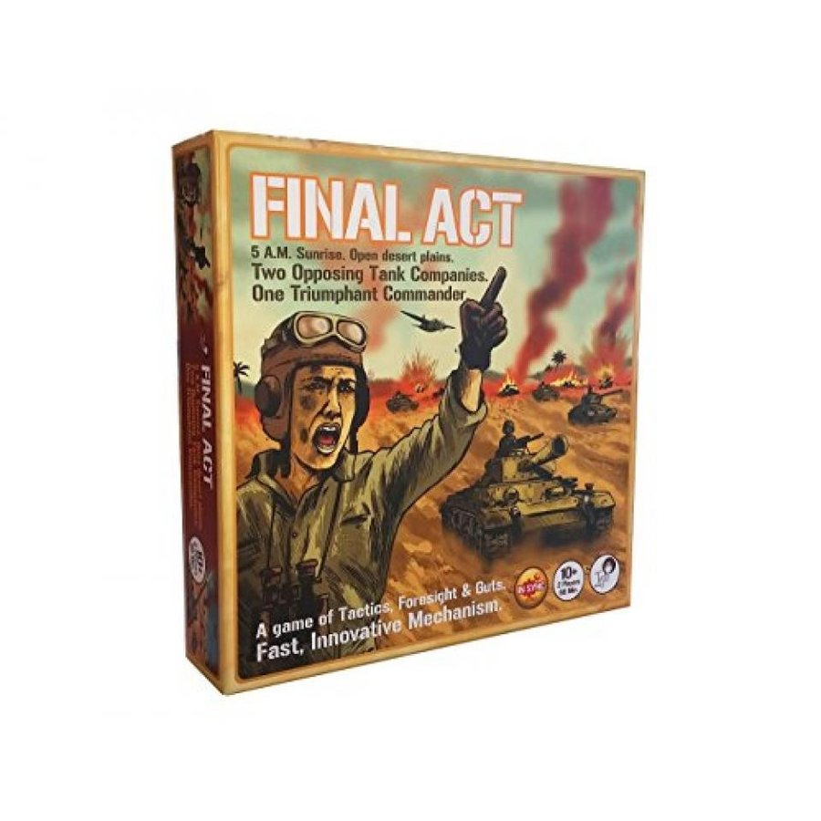 Tyto Games Final Act Si-Mov Strategy Board Game 輸入品