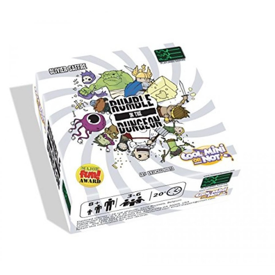 Rumble in The Dungeon Board Game 輸入品