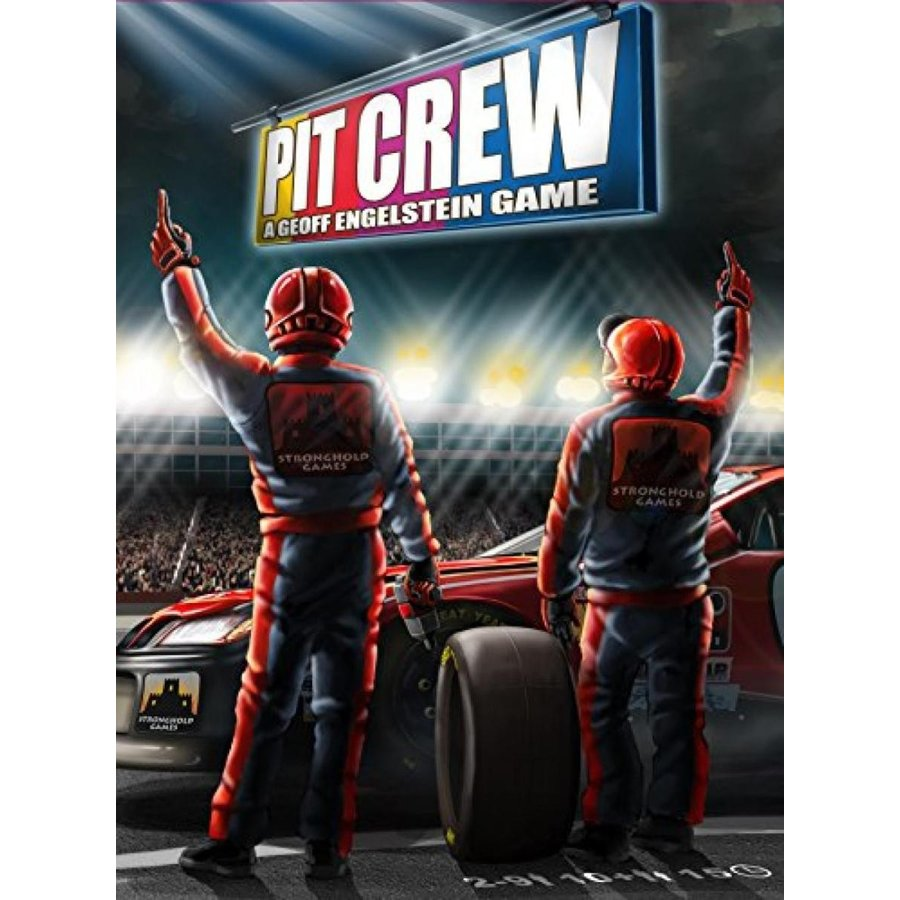 Stronghold Games Pit Crew Board Game 輸入品