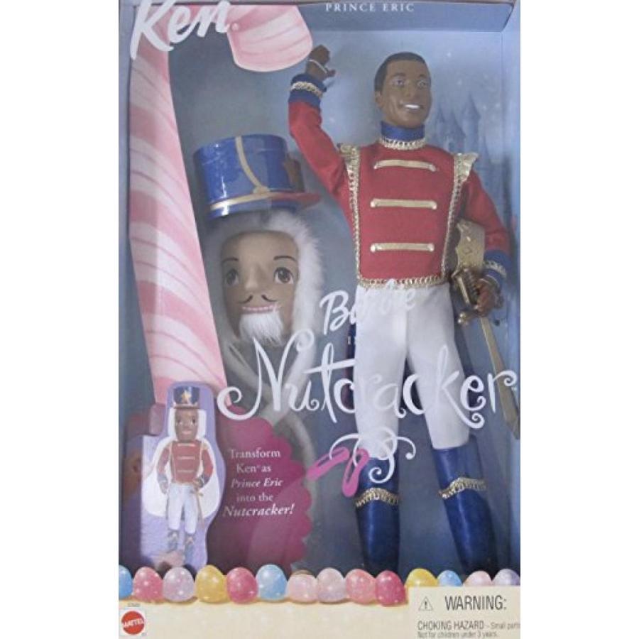 バービー おもちゃ BARBIE in The NUTCRACKER KEN Doll AA as PRINCE ERIC Doll AA w MASK, Hat & More! (2001) 輸入品