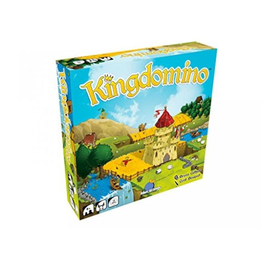 青 オレンジ Games Kingdomino Award Winning Family Strategy Board Game 輸入品
