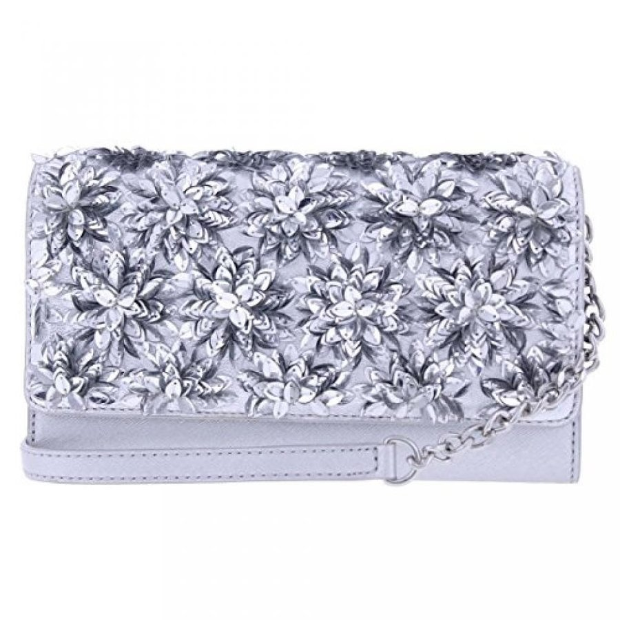 独特の素材 マイケルコース バッグ Michael Kors Womens Flora Leather Michael Embellished Kors Embellished Envelope Wallet 輸入品, イミズグン:76c4fffa --- chizeng.com