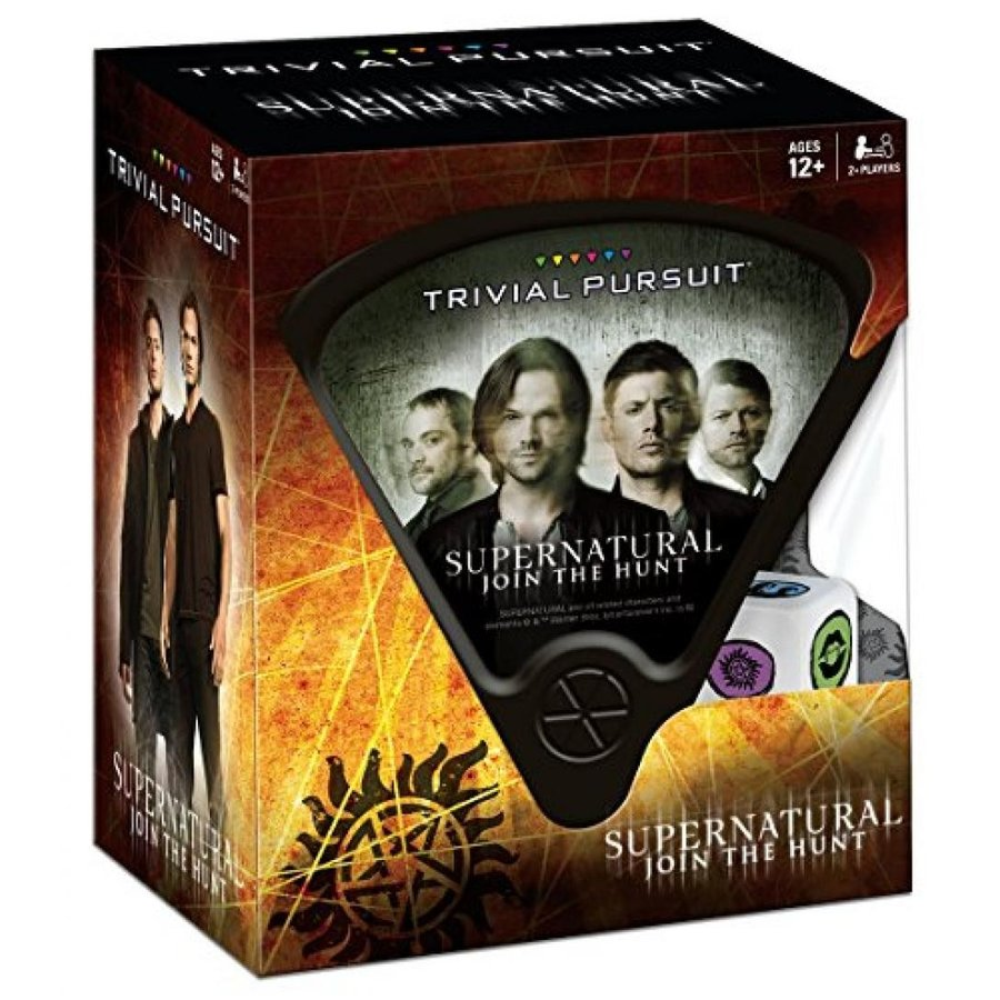 USAopoly Supernatural Trivial Pursuit Board Game 輸入品