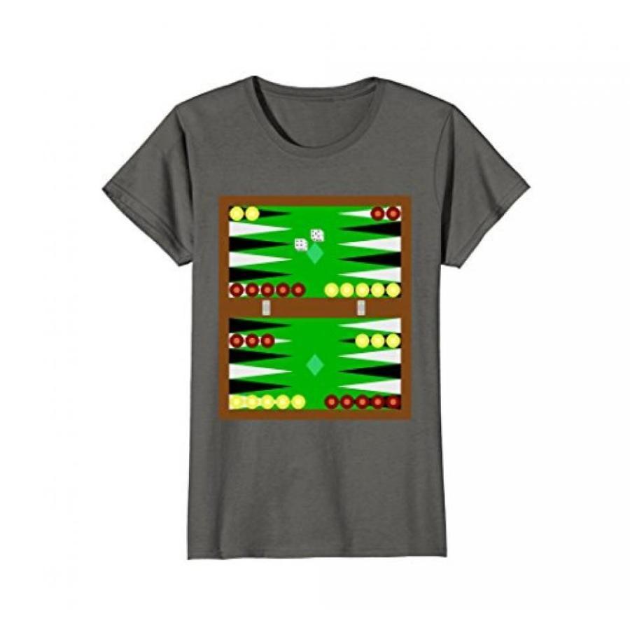 Backgammon T-Shirt Board Game Dice Graphic Tee 輸入品