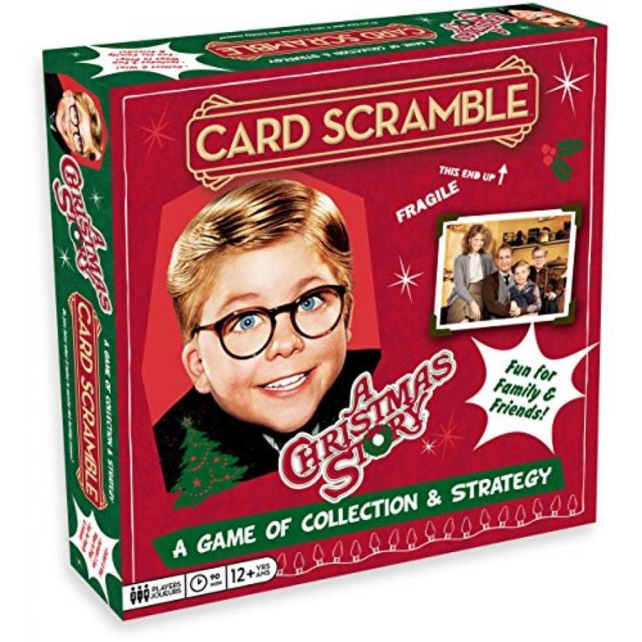 Aquarius a Christmas Story Card Scramble Board Game 輸入品