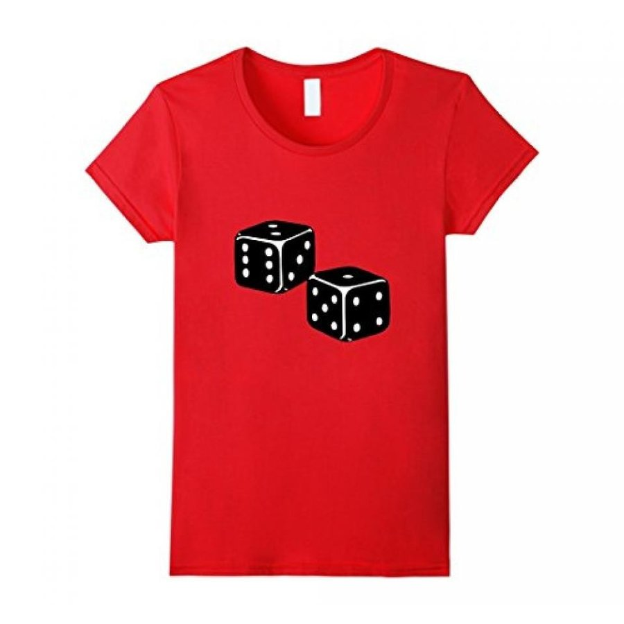 Lucky Dice T-Shirt | Board Games Roll | Casino 輸入品
