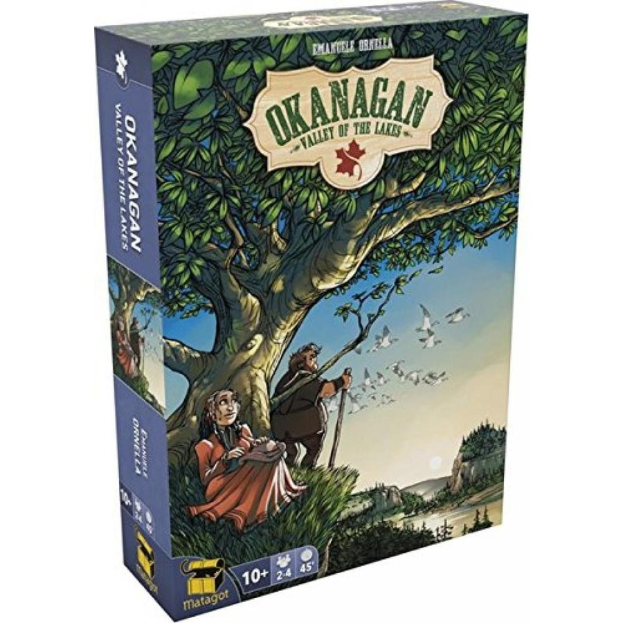 Okanagan The Valley of the Lakes Board Game 輸入品