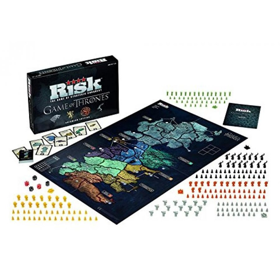 Game of Thrones Risk Deluxe Limited Edition Board Game 輸入品