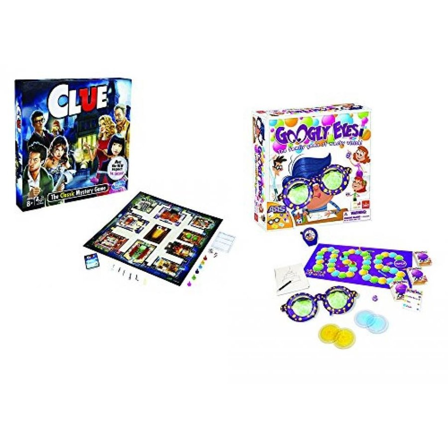 Clue Board Game & Googly Eyes Game 輸入品