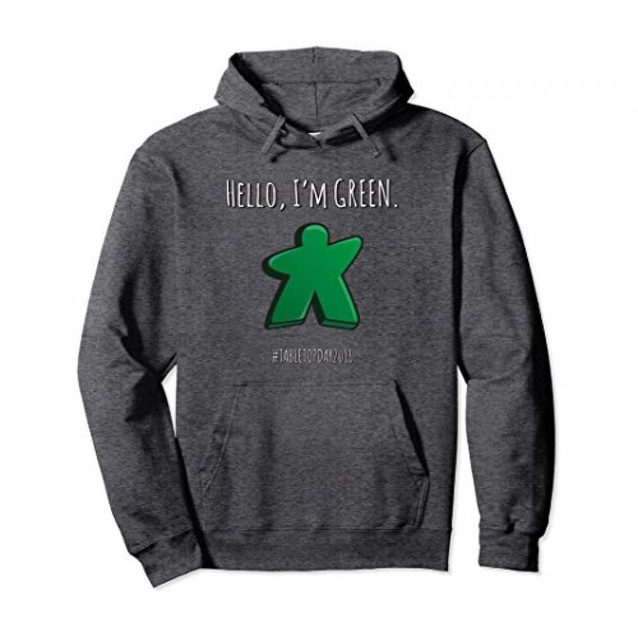 Hello, I'm 緑 Meeple. Board Games Pullover Hoodie. 輸入品