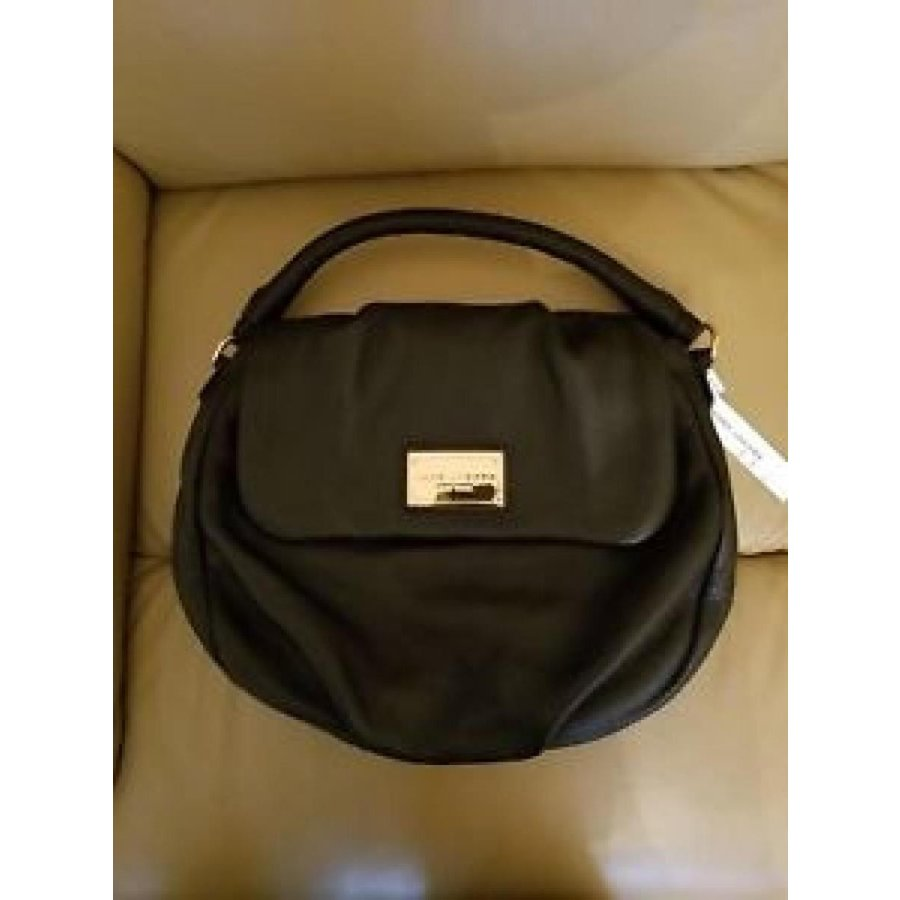 マーク・ジェイコブズ バッグ MARC JACOBS NEW YORK Shoulder BAG Leather 黒