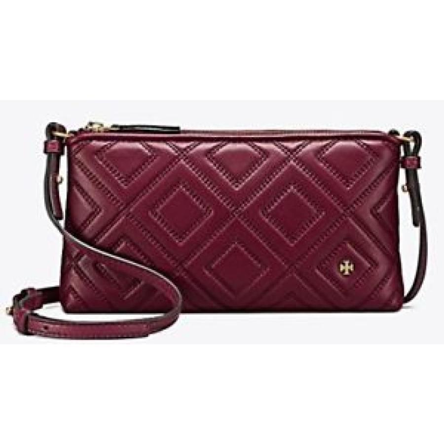トリーバーチ バッグ 輸入品 Tory Burch Fleming Cross-Body Bag IMPERIAL GARNET NWT Authentic SRP $298