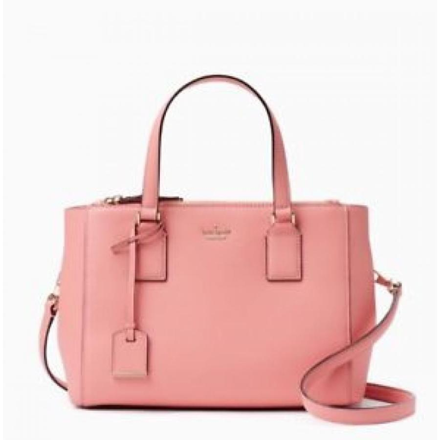 ケイトスペード バッグ 輸入品 NWT $358 Kate Spade Cameron Street Teegan Leather Bag Satchel Yucatan ピンク Purse