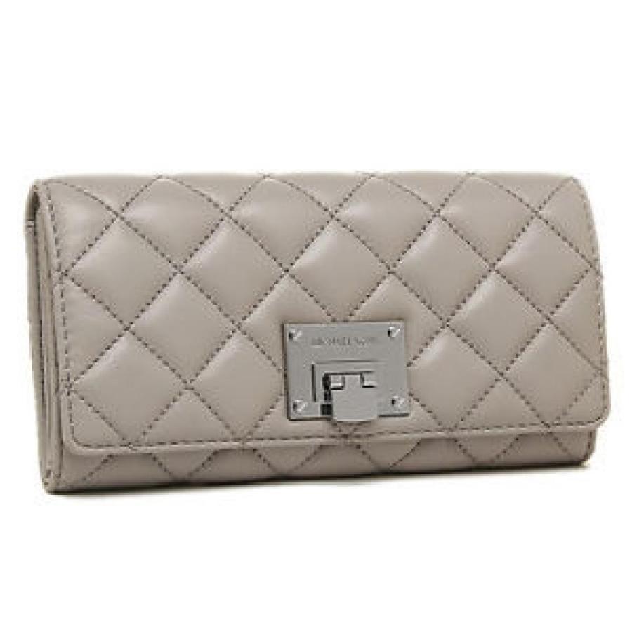 新しいコレクション マイケルコース Pearl 財布 輸入品 Michael Grey Kors Astrid Quilted Leather Astrid Carryall Wallet - Pearl Grey - 35S6SARE3L, BRANDSHOPクラージュ:93ccd8e6 --- sonpurmela.online