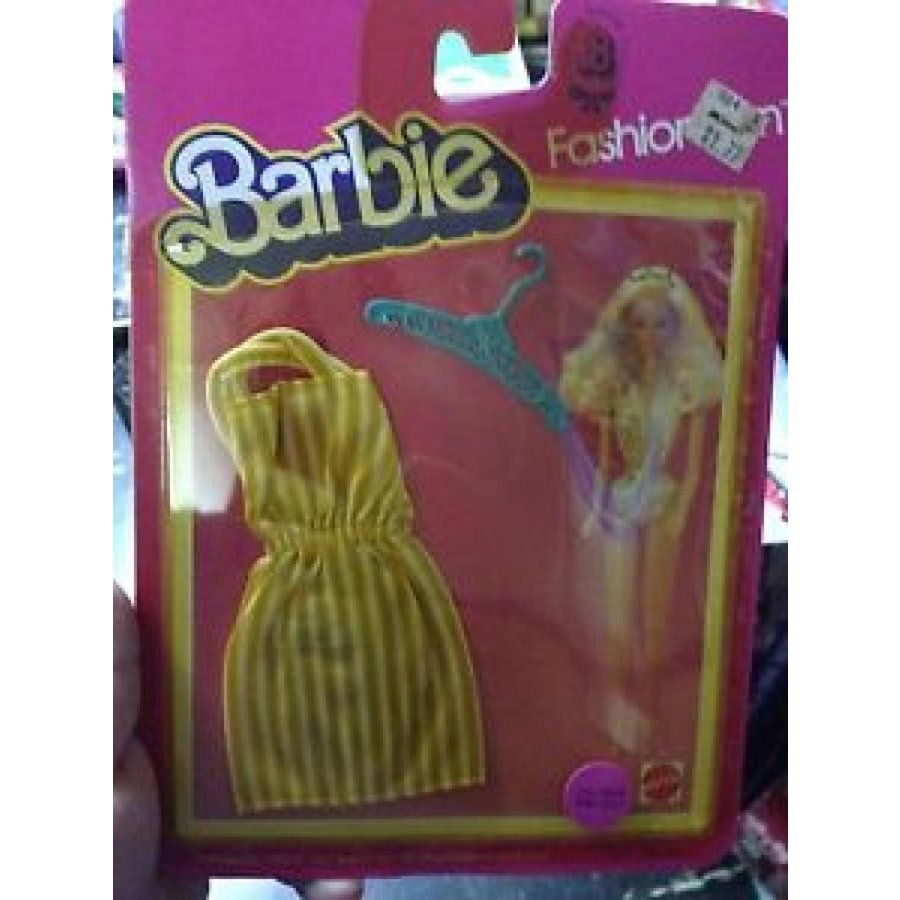 バービー おもちゃ Barbie Doll Outfit Fashion Fun Dress #7499 New on Card 輸入品