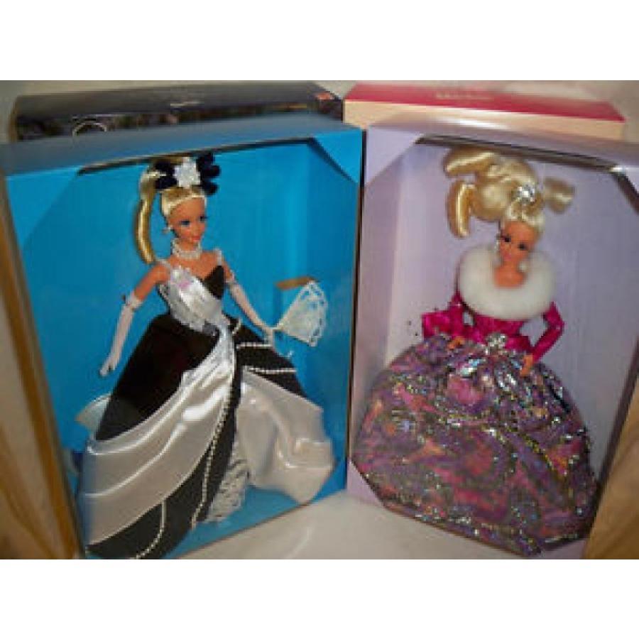 バービー おもちゃ Mattel 2 dolls Midnight Waltz and Starlight Waltz dolls Barbies NRFB mattel 輸入品