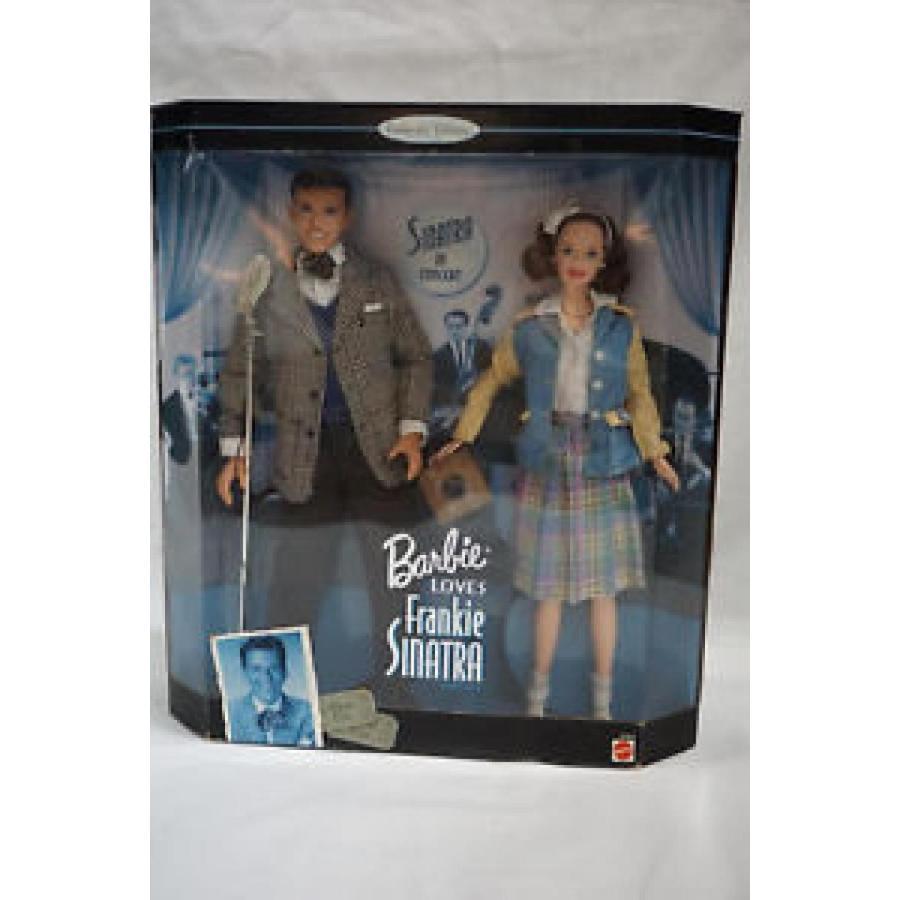 バービー おもちゃ Barbie Loves Frankie Sinatra 2 Doll set NEW factory sealed w/ Microphone Frank 輸入品