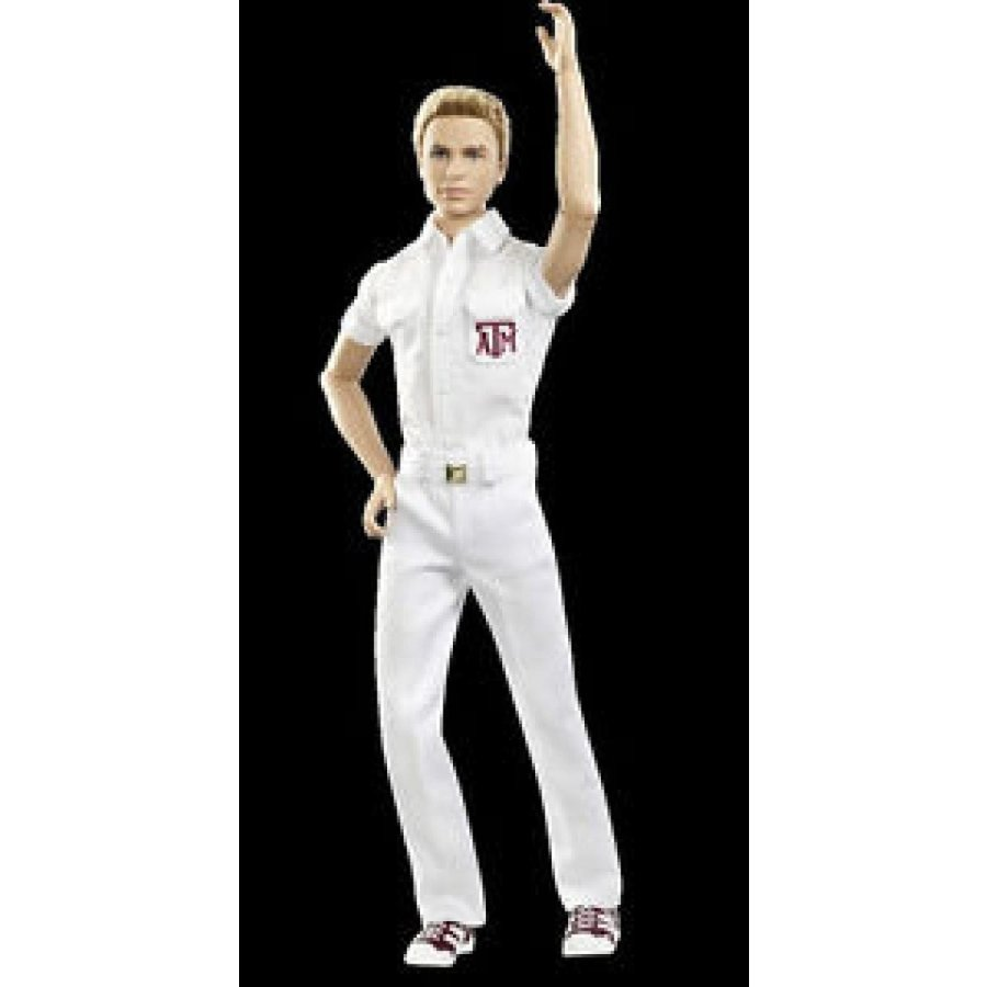 バービー おもちゃ Brand New Barbie TAXAS A & M UNIVERSITY KEN Doll (Hard To Find Sold Out) 輸入品