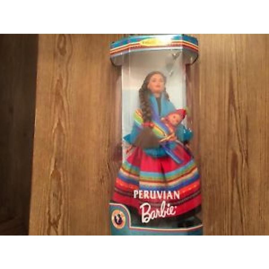 バービー おもちゃ L887 Barbie Dolls Of The World Peruvian Collectors Edition 1998 NEW 輸入品