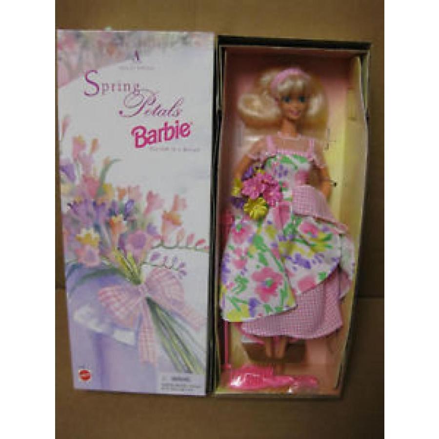 バービー おもちゃ 1996 Spring Petals Barbie doll- Avon Exclusive 輸入品