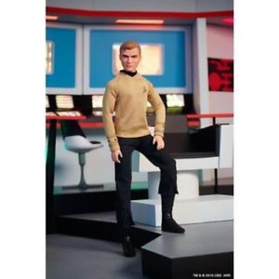 バービー おもちゃ Barbie Star Trek 50th Anniversary Doll Captain Kirk TOS Original Series LMT NEW 輸入品