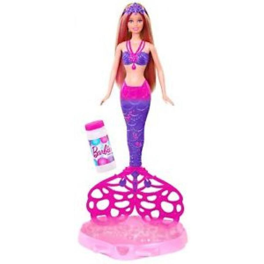バービー おもちゃ Barbie Bubble-Tastic Mermaid Doll 輸入品