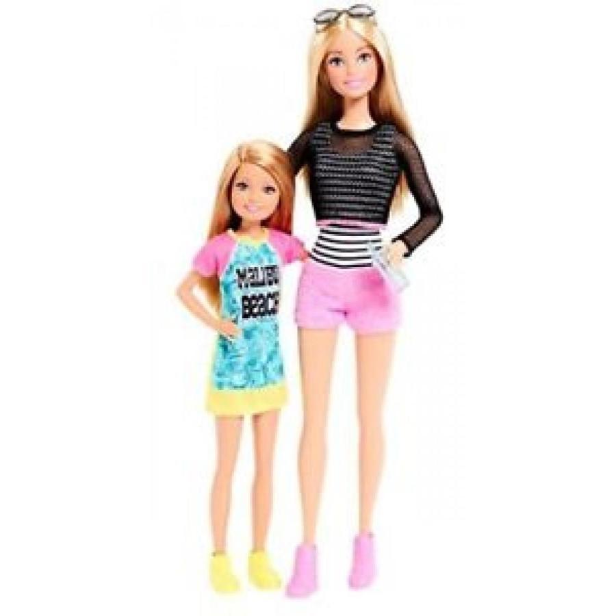 バービー おもちゃ Mattel - Import (Wire Transfer) Barbie Sisters and Stacie Doll 2-Pack 輸入品