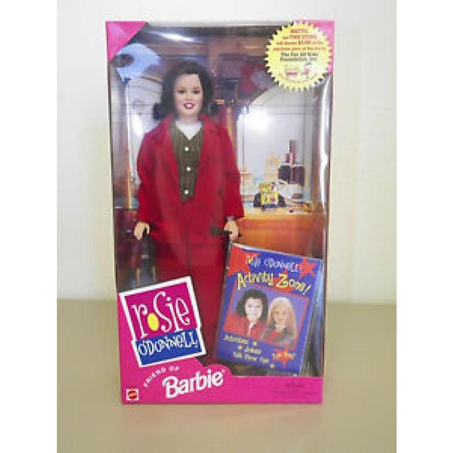 バービー おもちゃ ROSIE O'DONNELL FRIEND OF BARBIE DOLL MATTEL # 22016 輸入品