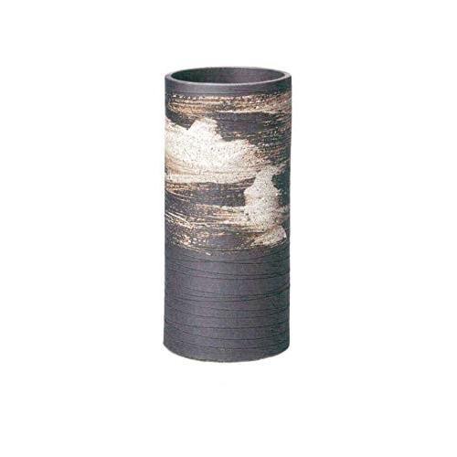 ヤマ庄陶器 傘立て ホワイトなど 直径19.5cm 信楽焼 白刷毛目傘立