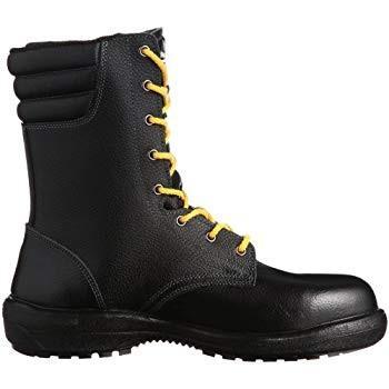 ミドリ安全静電安全靴 JIS規格 長編上靴 ラバーテック RT730F オールハトメ 静電 ブラック26.0(26cm)