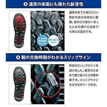 ミドリ安全 安全靴 JIS規格 雪上対応 耐滑 マジックタイプ 長編上靴 オールラウンダー ARD235 メンズ ブラック 27 cm 3E