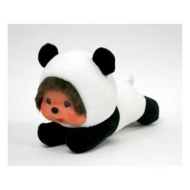 ねそべりモンチッチ ぬいぐるみ パンダ S 長さ約17cm