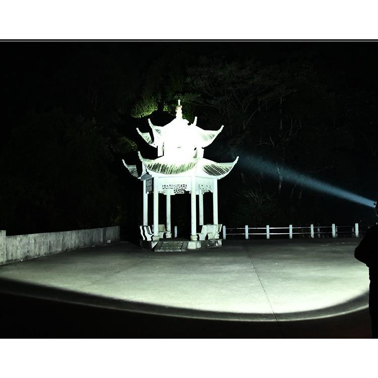 LED投光器 懐中電灯 作業灯 充電式 7モード点灯 40W 最大10時間使用 広角・狭角切替 ハンドル付 キャンプ用 モバイル電源 停電対策 災害対策 夜釣り ランタン|uuu-shop|15