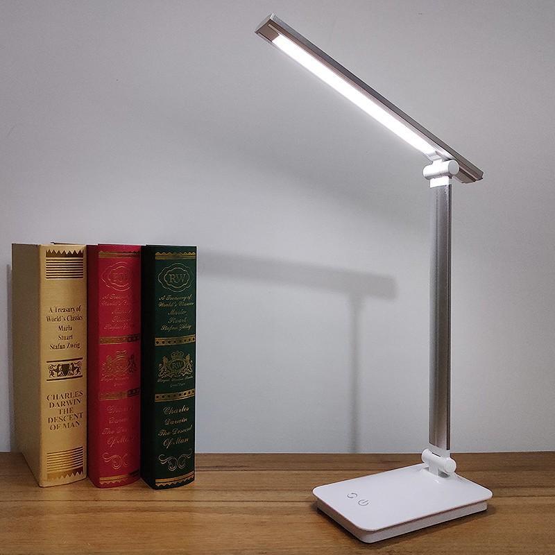 LED デスクライト 折りたたみ 目に優しい 電気スタンドライト 調光調色  卓上テーブルライト  照明 読書灯 コンセント付き 子供 USBデバイス充電式|uuu-shop|12