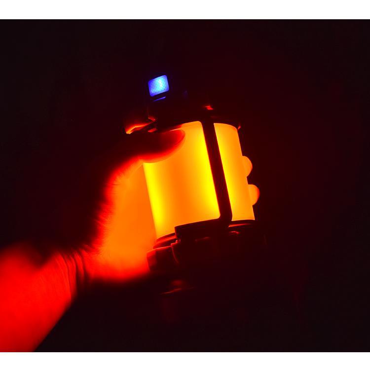 LED ランタン 懐中電灯  高輝度チップ搭載 USB充電式  モバイルバッテリー機能 6つ点灯モード 無段階調光 防滴 キャンプ 登山 釣り 防災 停電 緊急 非常用|uuu-shop|16