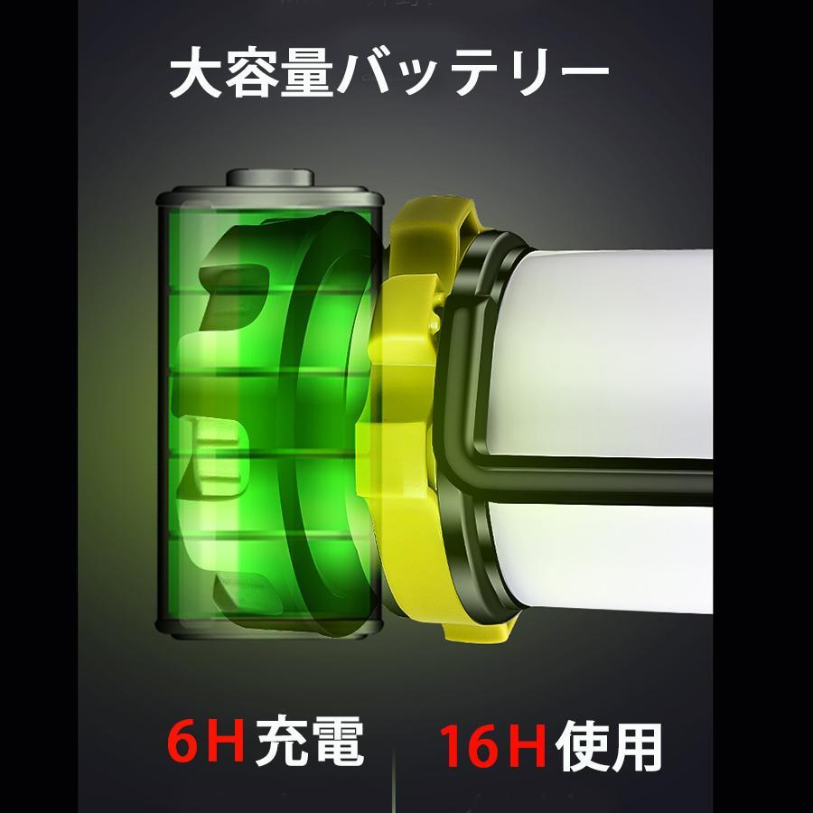 LED ランタン 懐中電灯  高輝度チップ搭載 USB充電式  モバイルバッテリー機能 6つ点灯モード 無段階調光 防滴 キャンプ 登山 釣り 防災 停電 緊急 非常用|uuu-shop|07