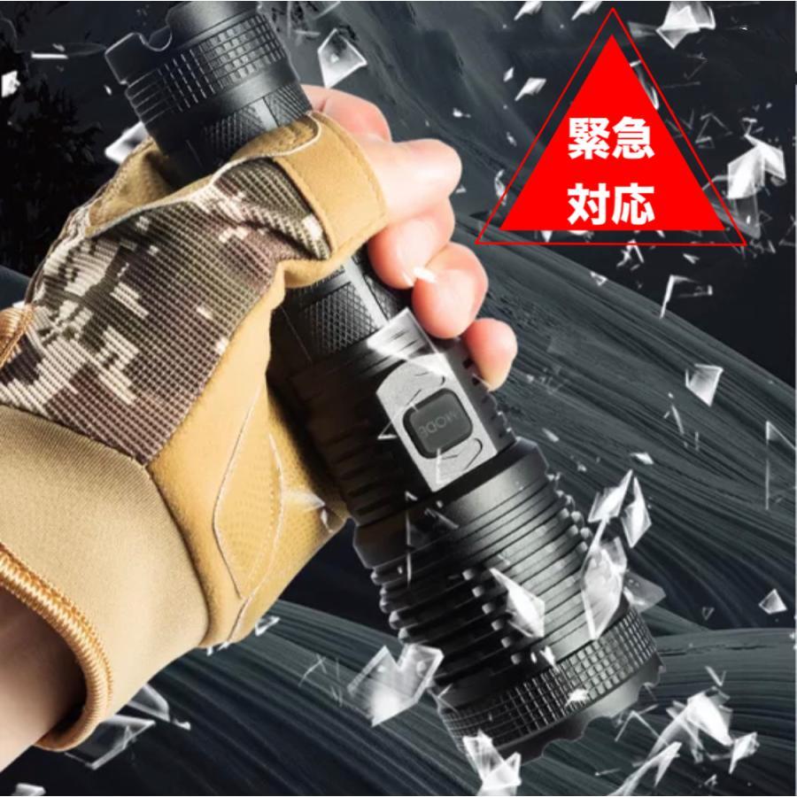 2020進化版 懐中電灯 ズーム式5モード 防災 地震 停電対策|uuu-shop|12