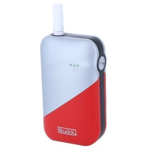 iBuddy 電子たばこ スターターキット 「iBuddy IS」 LU·M304·002 シルバー×レッド /アイバディ 電子タバコ 電子たばこ