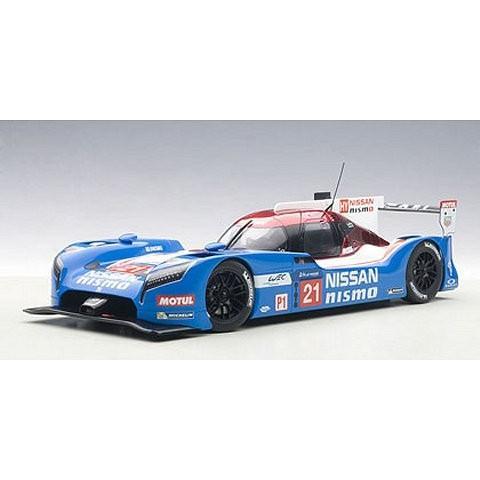 ニッサン GT-R LM NISMO 2015 No21 ル・マン24時間レース (1/18 オートアート81579)