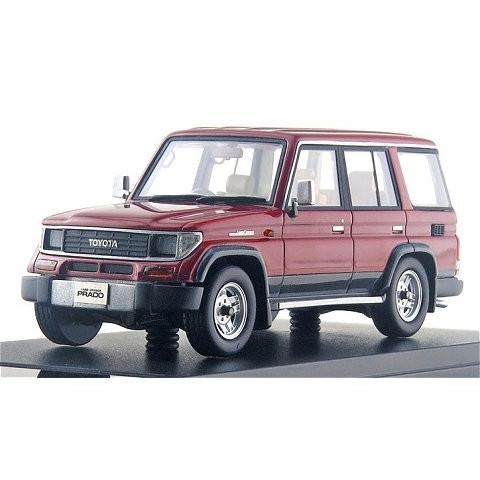 トヨタ ランドクルーザー 70 プラド SXワイド 1993 アクティブフィールドトーニング (1/43 ハイストーリーHS163RE)