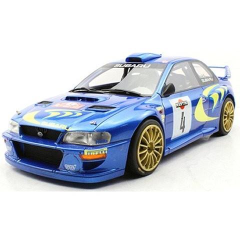 スバル インプレッサ S4 No4 サンマリノ 2nd. 1998 (1/18 トップマーケスTOP040C)