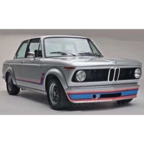BMW 2002 ターボ 1973 シルバー (1/18 モデルカーグループMCG18149)|v-toys