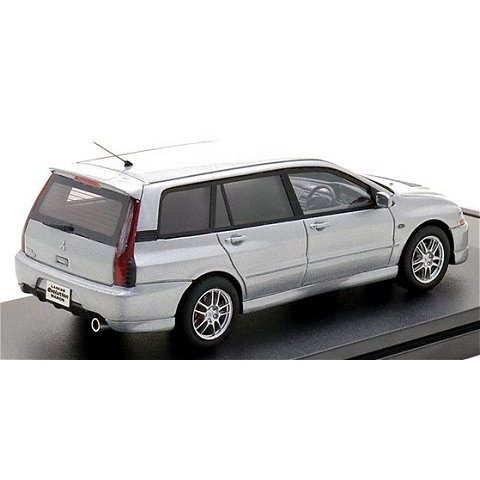 ミツビシ ランサー エボリューション ワゴン GT-A 2005 クールシルバーM (1/43 ハイストーリーHS298SL)|v-toys|02