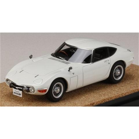 トヨタ 2000GT (MF10) 後期型 ホワイト (1/43 マーク43 PM4363BW)|v-toys